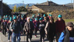 Cerca de 200 mayores se acercan a los 'pueblos negros' de Guadalajara a través del programa de rutas senderistas