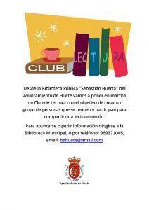 Comienza una nueva temporada del Club de Lectura de Huete en la Biblioteca Pública Municipal