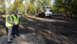 Comienzan las obras para la disminución del riesgo de inundación y la mejora de los ríos Júcar y Moscas