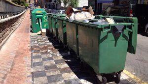 Cs Cuenca pide al equipo de Gobierno que inste a la concesionaria del servicio de limpieza el arreglo de los contenedores soterrados