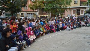 Cuenca celebra en el colegio público Ramón y Cajal el Día Internacional de la Niña