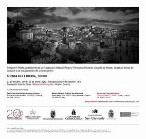 Cuenca en la Mirada de Vicente López Tofiño, en el Museo de Fotografía de Huete