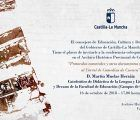 Cuenca tuvo corral de comedias te lo contarán todo en las conferencias del Archivo Histórico