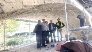 Diputación de Cuenca acomete la rehabilitación del Puente de Cristinas en Pajaroncillo