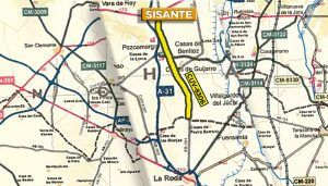 Diputación de Cuenca inicia el expediente de contratación del arreglo de la carretera de Sisante al límite de la provincia