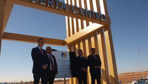 El alcalde de Guadalajara reivindica a Page el desdoblamiento de la carretera de Fontanar