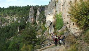 El Campus Diputación de Cuenca de Senderismo reunió a 86 participantes en Carrascosa de la Sierra