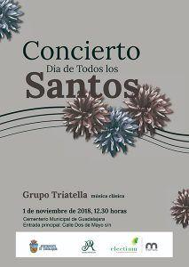 El Cementerio de Guadalajara albergará un concierto con motivo de la festividad de Todos los Santos
