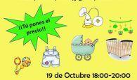 El Centro Eduardo Guitián acoge un mercadillo a beneficio de Diego, el único niño enfermo de Duchenne en Guadalajara