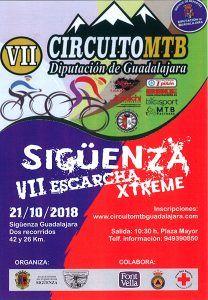 El domingo 21, VII Escarcha Xtreme, penúltima prueba del Circuito MTB Diputación de Guadalajara