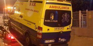 El PP denuncia que pacientes y conductores de ambulancias se asfixian con el humo del motor al colarse en el interior de las mismas