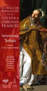El próximo día 15 da comienzo el II Ciclo de Formación de la Cátedra Gonzalez Francés