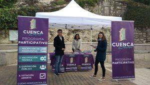 """El proyecto participativo """"Cuenca, En Marcha!"""" cumple un mes con más de 150 propuestas recogidas por toda la ciudad"""