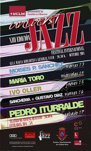 El saxofonista Pedro Iturralde cerrará Universijazz que se celebrará en el Campus de Ciudad Real del 23 al 27 de octubre