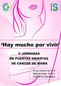 El servicio de Ginecología y Obstetricia del Área Integrada de Guadalajara celebra nueva jornada de puertas abiertas en torno al cáncer de mama