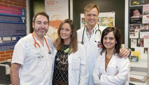 El servicio de Pediatría del Hospital de Guadalajara, premiado por un trabajo sobre el abordaje en Urgencias de un brote de tos ferina en esta provincia
