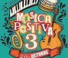 El teatro Buero Vallejo acogerá el 26 de octubre el concierto benéfico 'Música Positiva 3' a favor de Nipace