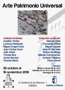 "Emilio Morales protagoniza la exposición ""Arte Patrimonio Universal"" en la Sala Iberia"
