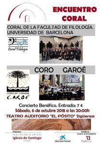 Este sábado, encuentro coral, a beneficio de la Iglesia de Santiago de Sigüenza