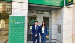 Eurocaja Rural acerca su modelo de banca tradicional a Quart de Poblet