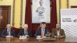 Firmado el convenio de colaboración entre la Fundación Ibercaja y el Patronato de Cultura del Ayuntamiento de Guadalajara