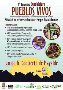 Fontanar acogerá este sábado el I Encuentro de Guadalajara Pueblos Vivos