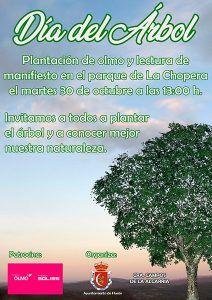 Huete celebrará este martes, 30 de octubre, el Día del Árbol