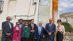 Huete homenajea a Teófilo Sevilla poniendo su nombre a la nueva plaza de Saceda del Río