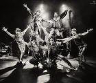Integrantes del Circo del sol en el Buero Vallejo el sábado, 27 de octubre