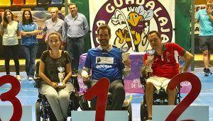 Juan Pedro Sánchez asiste a la entrega de premios del XIII Open de Boccia