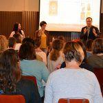 La Biblioteca pública anima a la lectura con la segunda edición de las jornadas ¡Atiza! que incluyen encuentros entre autoras y estudiantes de Guadalajara