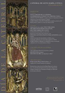 La Catedral de Cuenca celebrará, el 20 de octubre, el Día de la Catedral con una jornada de puertas abiertas a un precio simbólico, dos ponencias y un concierto