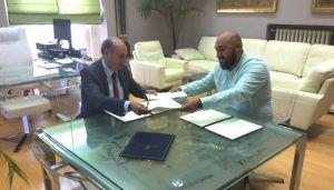 La Diputación de Guadalajara continúa colaborando con el Club Alcarreño de Salvamento y Socorrismo en el fomento de la actividad deportiva