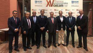 La Diputación de Guadalajara felicita a la empresa Hocensa por el premio de CECAM recibido en Toledo