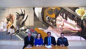 La Fundación Jacinto e Inocencio Guerrero cede el graffiti de sus Jornadas de Zarzuela al Teatro-Auditorio