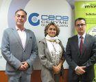 La Fundación Vencer al Cáncer concede a CEOE-Cepyme Guadalajara el SelloSolidarioVEC por su respaldo en la lucha contra el cáncer