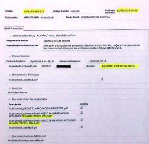 La Junta afirma que de la Diputación de Cuenca no solicitó fondos europeos para la hospedería de San Clemente