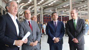 La Junta celebra la llegada a Guadalajara de ICP Logística, una nueva empresa que apuesta por el Corredor del Henares