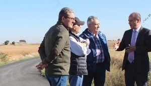 La Junta ha ejecutado ya el arreglo de 15 kilómetros de caminos rurales en la provincia de Guadalajara