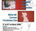 La Sala Iberia acoge una exposición de las artistas pedroñeras María del Carmen Fernández Osa y Margarita Molina