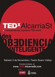 Las charlas TED llegan al Buero Vallejo el sábado, 3 de noviembre