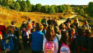 Los alumnos de los colegios San Pedro Apóstol y La Alcarria visitan Castillejos