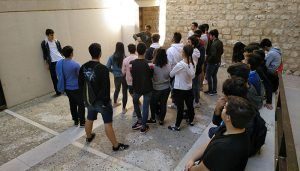 Los alumnos del Colegio Salesiano de Guadalajara celebran la Semana Internacional de la Arquitectura