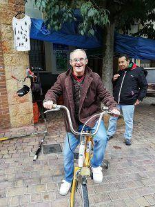 Los usuarios de Aframas vuelven a disfrutar de la bicicleta gracias a un convenio de colaboración con Recicleta San Santón