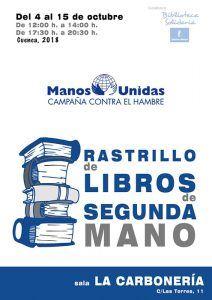 Manos Unidas inicia en Cuenca la quinta edición de su rastrillo de libros de segunda mano