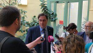 Mariscal pide a la Junta que utilice los fondos europeos para hacer las inversiones necesarias en los colegios de Cuenca