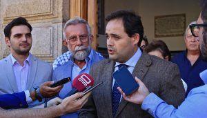 """Núñez quiere ser el altavoz necesario y un elemento de presión"""" para que Talavera de la Reina avance y mejore en la región"""