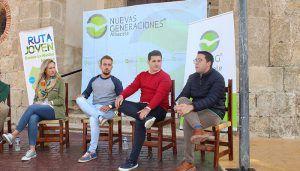 Navarro y Sánchez-Infante destacan la interacción con los colectivos sociales de Castilla-La Mancha a través de la Ruta Joven