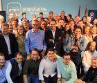 Paco Núñez da el relevo al senador Vicente Aroca como presidente del PP de Albacete, con la unanimidad del Comité Ejecutivo Provincial