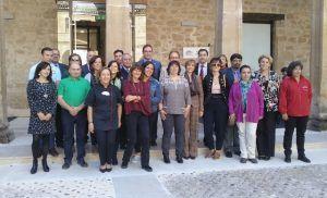 Prieto alaba el potencial agroalimentario de la comarca de Huete y su apuesta por sus productos de alta de calidad